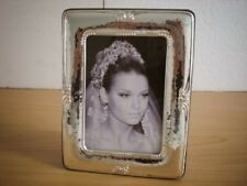 WEDDING GIFT Sterling Silver Photo Picture Frame Handmade *long/ 9×13 GB new