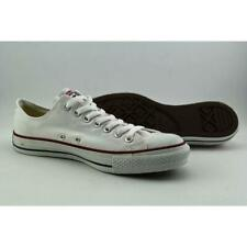 Converse Mens Shoes Low SNEAKERS All Star Chuck Taylor White Canvas Trainers