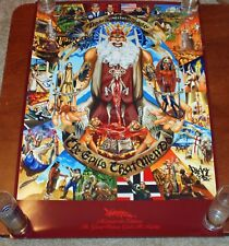 Mear One Poster Great Western God All Mighty Art Print Religion Politics Banksy