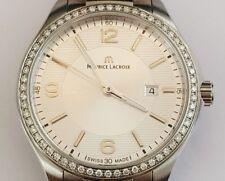Maurice Lacroix Miros Armbanduhr Damen Luxusuhren Damenuhr Diamant Uhr Ebay NEU