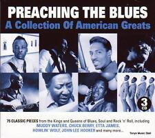 PREACHING THE BLUES - 75 CLASSIC TRACKS - VARIOUS ARTISTS (NEW SEALED 3CD)