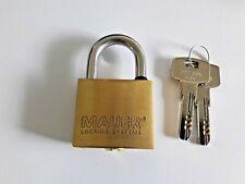 MAUER 185.005 High Security Padlock Keying Platforms ELIT