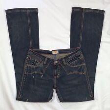 EUC Women's Antik Denim Distressed Embroidered Denim Jeans-Size 28