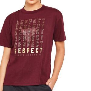 Under Armour UA X Project Rock Respect Tee HeatGear Graphic T Shirt M