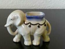 Vintage ELEPHANT Toothpick Holder Made in Japan