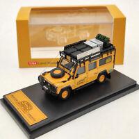 1:64 Master Land Rover Defender 110 Diecast Models Toys Car Collection Orange