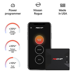 RSCHIP Nissan Rogue tuning chip power programmer performance tuner OBD2