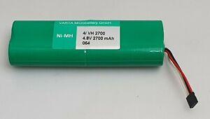 4.8V 2700mAh Ni-MH BATTERY PACK 4/ VH2700 VARTA ( 4 x A size batteries )