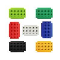 7pcs PCB Board Solderless Breadboard PCB Circuit Board for Arduino 55-Hole
