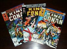 King Conan Comics Lot Marvel *LOOK*