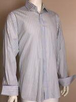 Charles Tyrwhitt Long Sleeve French Cuff Dress Shirt Men's 16/34