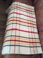 Vintage Warmbilt Wool Blanket 84x70