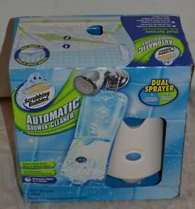 Scrubbing Bubbles Automatic Shower Cleaner Kit Booster Dual Sprayer