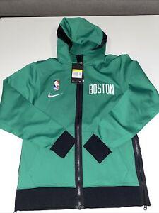 Nike Boston Celtics Showtime Therma Flex Hoodie NBA Basketball SMALL CN4012-312