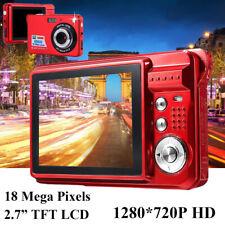 "HD 720P Mini DV 2.7"" TFT LCD Digital Camera 18MP 8xZoom DVR Camcorder Anti-Shake"