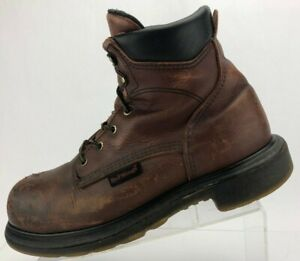 Red Wing Shoes Work Safety Ankle Boots Brown Electrical Hazard EH USA Mens 10 E2