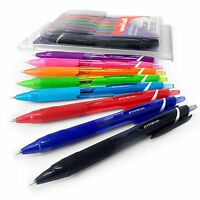 Uni-Ball Jetstream Colours SXN-150C – Retractable 0.7mm Rollerball – Wallet of 8