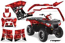 AMR Racing Polaris Sportsman800/500 Graphic Kit Quad Wrap ATV Decal 11-15 REAP R