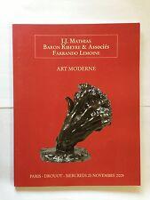 CATALOGUE BARON RIBEYRE FARRANDO LEMOINE MATHIAS 2009 DESSINS ESTAMPES ART