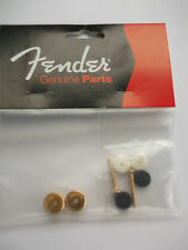 fender usa gold strap buttons,screws and felts 001-8916-049