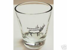 """BROWNING GUNS """"THE BEST THERE IS """" LOGO SHOT GLASS"""