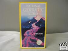 National Geographic Video - Born of Fire VHS