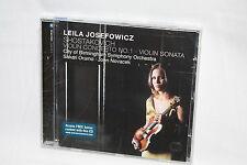 Leila Josefowicz SEALED CD Shostakovich Violin Concerto No 1 Birmingham Oramo