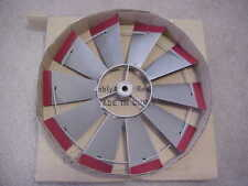 "REPLACEMENT 22 l/2"" FAN ONLY (Silver/RedTips)for 8 ft Tall Steel Windmill 20"