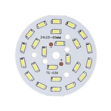 12W Round 5730 SMD Lamp Plate 24 LED Super Bright LED Chip Light LED Bulb L M2A3