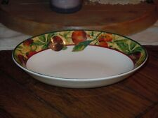 "Royal Doulton Everyday AUGUSTINE 9.75"" Oval Vegetable Bowl Fine China Oven Safe"