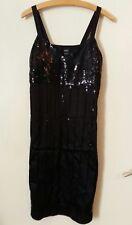 28501f2d1b6b Wunderschönes Kleid von Esprit schwarz Pailletten Gr. S 36 Party Cocktail  Abend