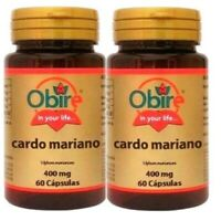 CARDO MARIANO  400mg 2x60= 120cps  Envio urgente gratis OBIRE