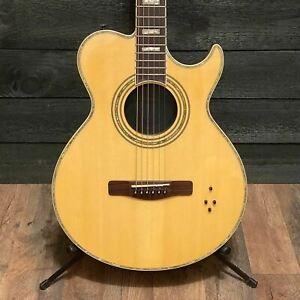 Samick Greg Bennett SMJ 17 CE Thinline Acoustic Electric Guitar w/ Case