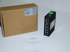 L-Com IES-2205 Industrial 5 Port 10/100 Switch Un-managed NEW    (K1T)K