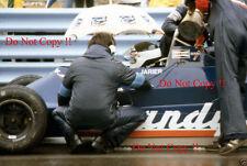 Jean-Pierre JARIER CANDY TYRELL 009 USA GRAND PRIX 1979 FOTOGRAFIA