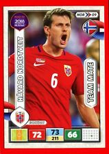 ROAD TO RUSSIA 2018 -Panini Adrenalyn- Card Team Mate - NORDTVEIT - NORWAY