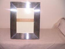 "Ralph Lauren Picture Frame Caitlin 5"" x 7"" Silverplate New Open Box"