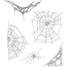 """TH - Cling Stamps 7""""X8.5"""" - Tangled Webs"""
