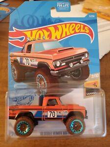 2021 Hot Wheels Orange 70 Dodge Power Wagon Baja Blazers