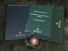 9.2012 ENG 4X ROLEX DAYTONA (2X BOOKLET+PAPER HOLDER+RED TAG) 116520 116515 LN..