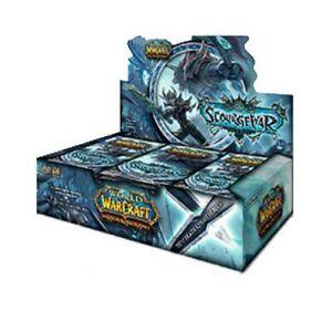 WoW TCG Scourgewar Booster Box World of Warcraft 24 Packs - Factory Sealed