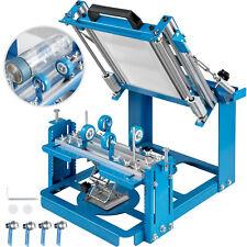 200x100 mm Machine de Sérigraphie pour les Produits Cylindriques et Coniques
