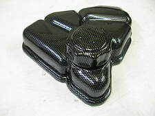 FORD FIESTA ST 150 MK6 HEADER TANK COVER AND CAP CARBON FIBER ABS PLASTIC