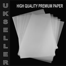 95GSM TRACING PAPER - A4 / A3 TRANSLUCENT PAPER - ART,CRAFT,COPYING,CALLIGRAPHY