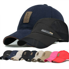Unisex Men Women Baseball Cap Bboy Outdoor Sun Snapback Hats Hip-Hop Adjustable