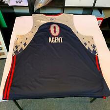"""Gilbert Arenas Authentic 2007 All Star Game """"Agent Zero"""" Wizards Jersey"""