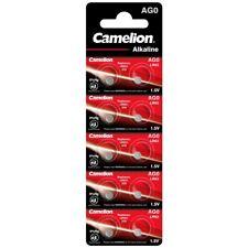 10x Knopfzelle AG0-LR63-LR521-L521-379 Uhrenbatterie von Camelion