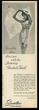 1963 pretty woman photo Smoothie Slimlook lingerie bra Lycra panty girdle ad