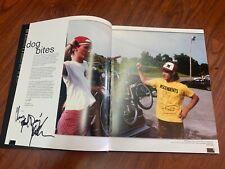 S&M Bikes Signed History Book Behind The Shield Bike Chris Moeller 30 Year