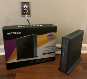 NETGEAR Nighthawk AC1900 WiFi C7100V Cable WiFi Modem Router Internet & Voice
